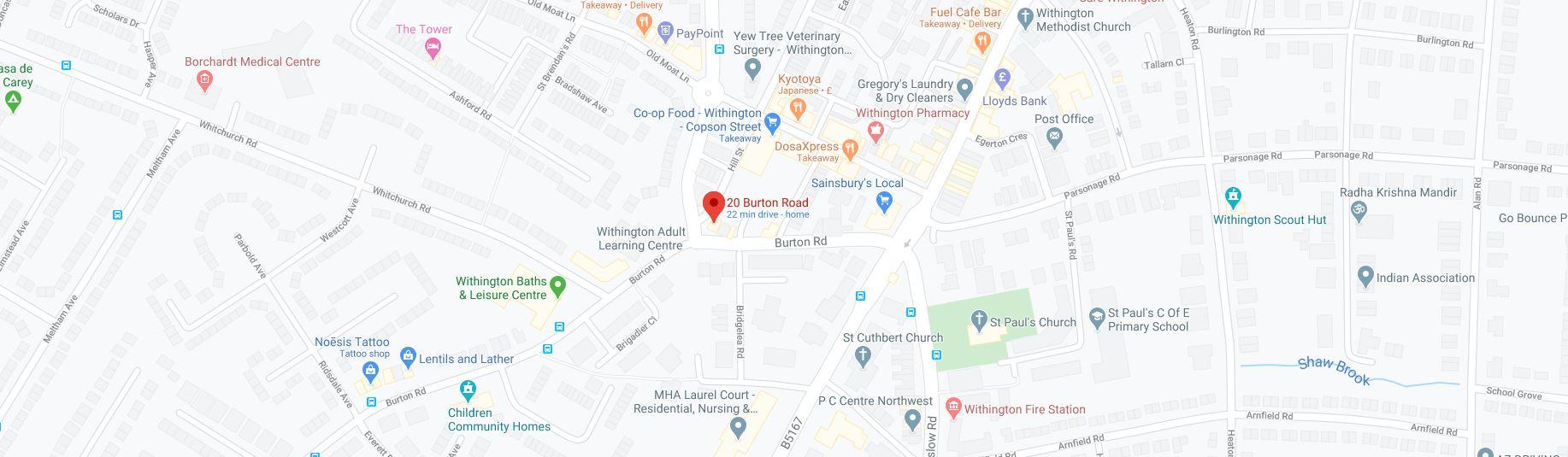 Man & Machine Google Map Address